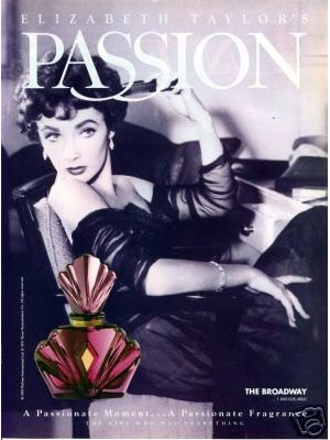 Elizabeth Taylor Passion perfume