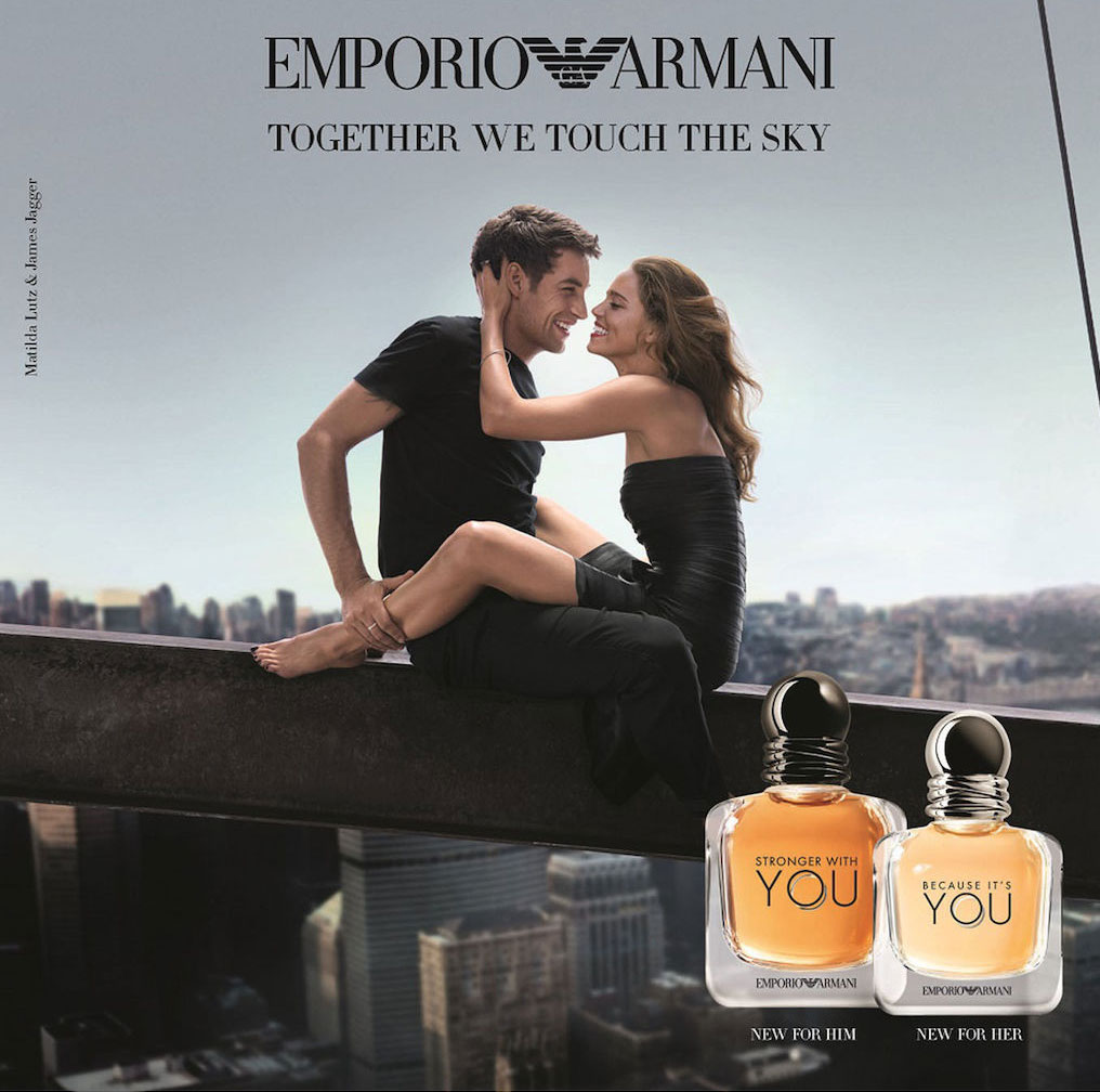 dfecf18728 BECAUSE IT'S YOU, STRONGER WITH YOU BY EMPORIO ARMANI. Well known Italian  fashion and fragrance ...