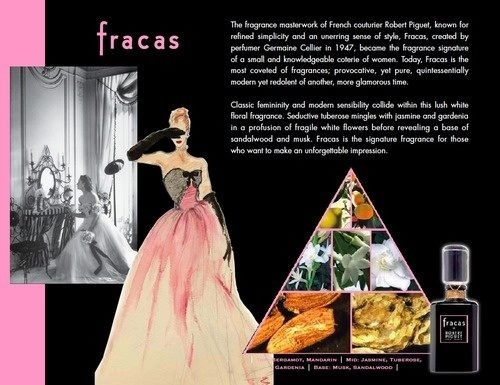 Fracas by Robert Piguet ad